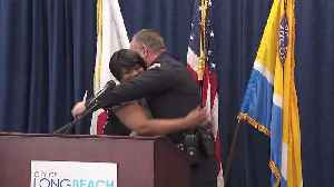 News video: Former Drug Addict Reunites with Police Officer Who Helped Her Get Clean