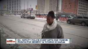 News video: Former Detroit deputy police chief sentenced to one year in prison for bribery