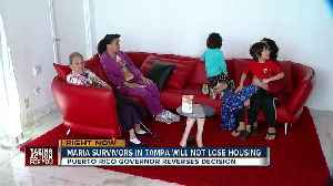 News video: Puerto Rico governor agrees to extend housing assistance for Hurricane Maria victims