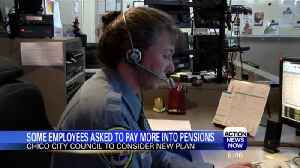 News video: Chico PD Employees to Pay More into Own Pensions