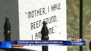 News video: Confederate Monument Violations