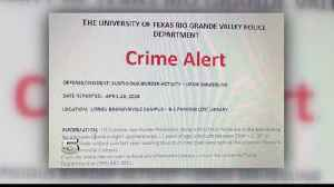 News video: Students on Alert After Attempted Smuggling at UTRGV