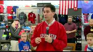 Walker signs child tax rebate, sales tax holiday bill [Video]