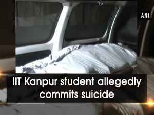 News video: IIT Kanpur student allegedly commits suicide
