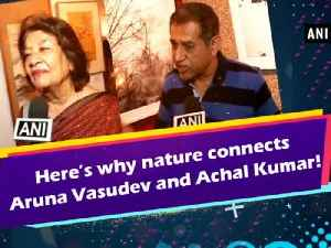 Here's why nature connects Aruna Vasudev and Achal Kumar! [Video]
