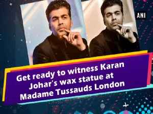 News video: Get ready to witness Karan Johar's wax statue at Madame Tussauds London