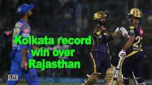 News video: IPL 2018 | All-round Kolkata record facile seven-wicket win over Rajasthan