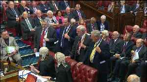 News video: Lords delivers defeat to Theresa May's government over exiting EU customs union
