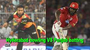 News video: IPL 2018 | A battle between Punjab batting and Hyderabad bowling