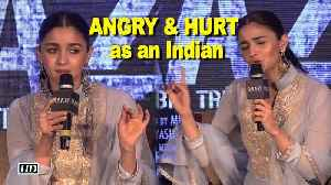 News video: Alia vents anger on Kathua Rape, demands justice