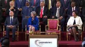 News video: Queen opens Commonwealth Heads of Government Meeting