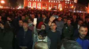 News video: Protests continue in Armenia over president's sideways move into Prime Minister's office