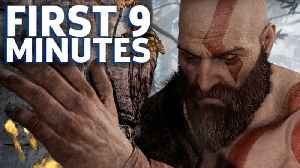 News video: The First 9 Minutes Of God Of War