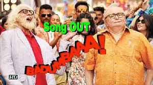 "News video: ""Badumbaaa"" SONG OUT 