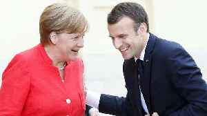News video: Watch again: Macron and Merkel want to agree Eurozone reform by June