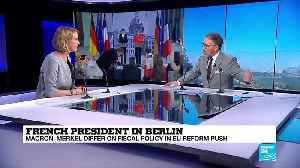 News video: Merkel and Macron: Can they compromise to push EU reform forward?