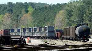 News video: Alabama's 'Poop Train' Cleared After Months Of Sitting Idle
