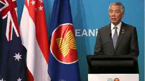 News video: Singapore PM Says US-China Trade War Could Harm 'The Security Of The World'