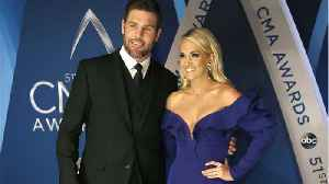 News video: Carrie Underwood Says Husband Mike Fisher Helped After Her Injury