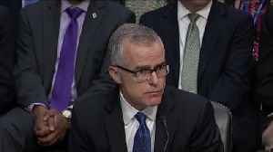 News video: Andrew McCabe faces possible criminal probe