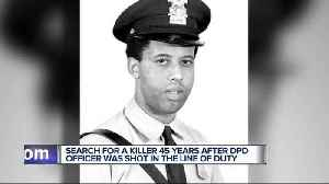 News video: Death of Detroit Police officer shot in 1972 ruled a homicide after his death 45 years later