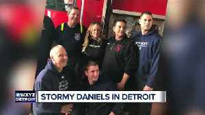 News video: Stormy Daniels obtains permit for Detroit show at Truth Gentleman's Club