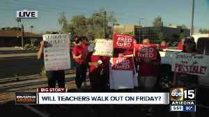 News video: ABC15 is working to find out what Valley districts will do if there is a walkout