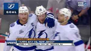 News video: Nikita Kucherov leads way as Tampa Bay Lightning take 3-1 series lead over New Jersey Devils