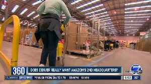 News video: Survey: Denver doesn't seem to care about getting Amazon's new HQ2