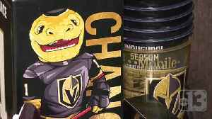 News video: Vegas Golden Knights merchandise mania driving up prices