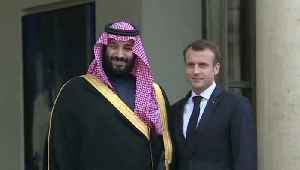 News video: Saudi Dictator Dines with French President as Yemenis Starve