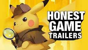 News video: DETECTIVE PIKACHU (Honest Game Trailers)