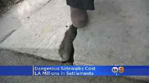News video: LA To Pay Out Over $3M In Latest Broken Sidewalk Settlements