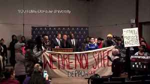 News video: FBI in Contact with DePauw University as Investigation in Series of Racial Threats Continues