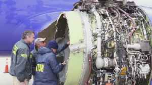 News video: Engine Blades To Undergo Inspections After Fatal Failure Aboard Southwest Flight