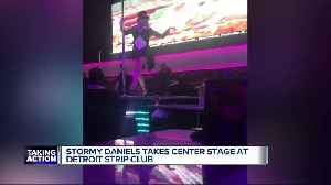 News video: Stormy Daniels performs at Detroit's Truth Gentleman's Club