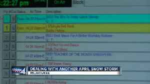News video: Milwaukee's B93.3 sprinkles in Christmas songs to go with April snow