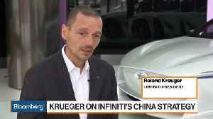 News video: Krueger Says Infiniti Will Bring More SUV Models to China