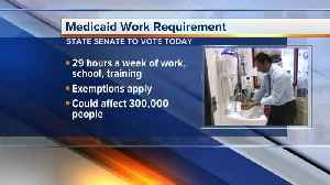 News video: MI Senate to vote on bill that would require people on Medicaid to work