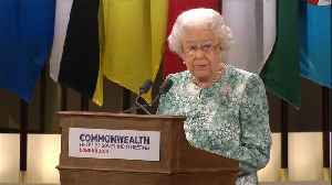 News video: Queen Elizabeth backs her son Charles to take on Commonwealth role