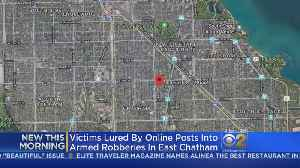 News video: East Chatham Robberies