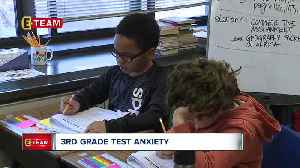 News video: Third grade teacher helps students de-stress ahead of state testing