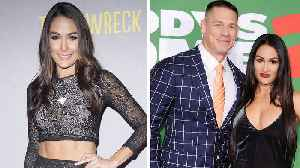 News video: Brie Bella Says She'll 'Always Love John Cena Like a Brother' After Twin Nikki's Breakup