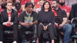 News video: Courtside Date Night! Kylie Jenner and Travis Scott Enjoy Time Together Without Daughter Stormi