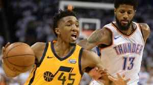 News video: Nick Wright unveils what Donovan Mitchell's phenomenal performance means for Utah's playoff run