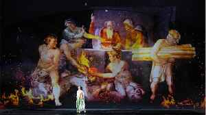 News video: Rome Theater Shows Michelangelo Masterpieces With Laser Show And Music By Sting