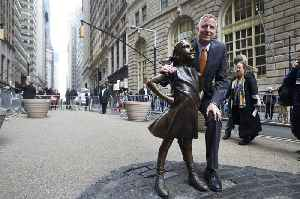 News video: Celebrated 'Fearless Girl' statue moving next to Stock Exchange