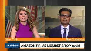 News video: Amazon Tops 100 Million Prime Members Milestone