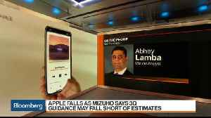 News video: Mizuho's Lamba Downgrades Apple After 'Lackluster Demand'
