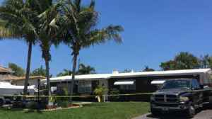 News video: Cops find woman dead and man unconscious in Pompano home